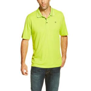6f03c58a87 Ariat® Lime Green TEK Polo