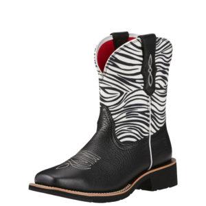 57f845fd68 Ariat® Black Zebra Print Rosie Women s Boot