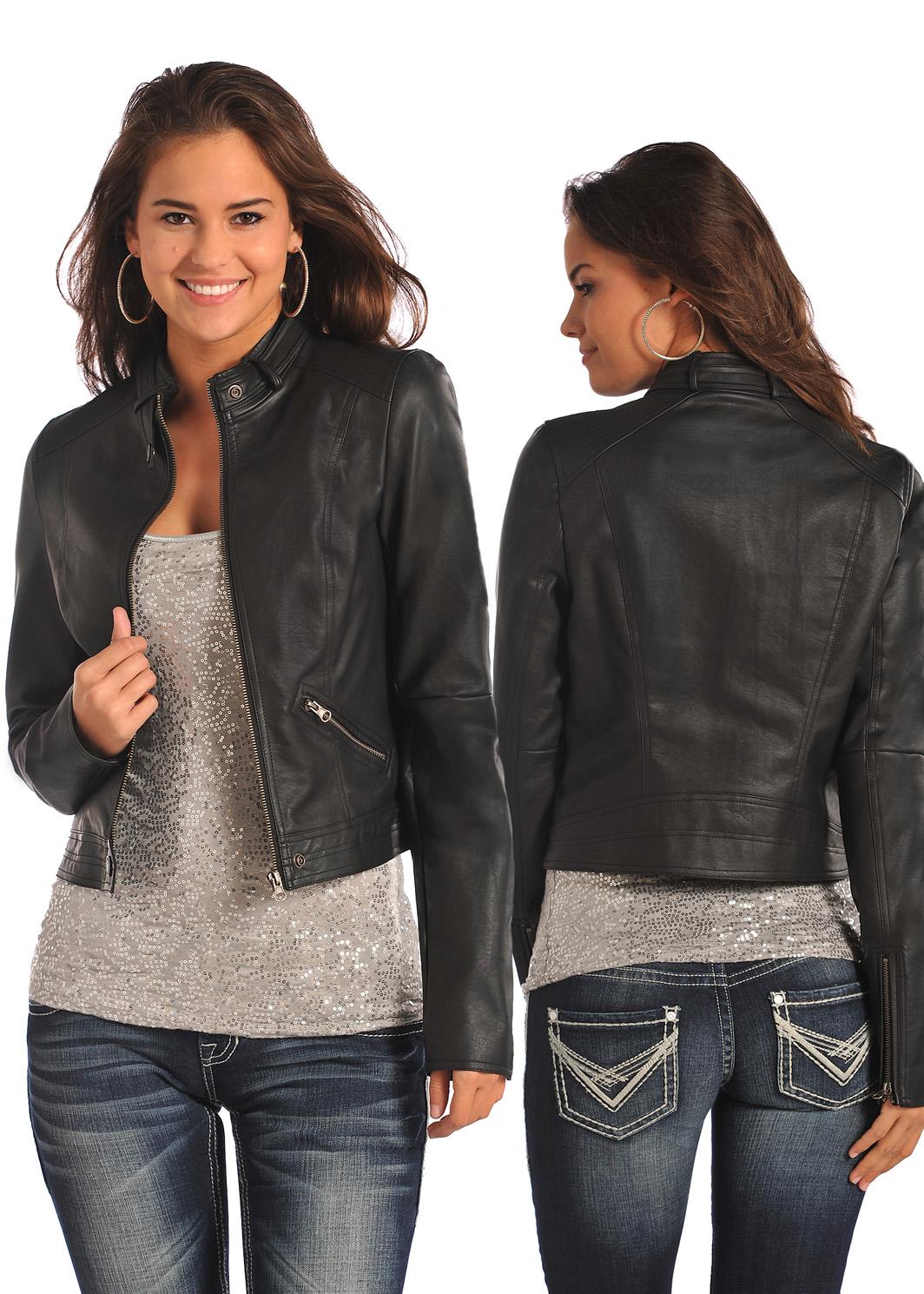 Rock \u0026 Roll Cowgirl Black Jacket | Dry