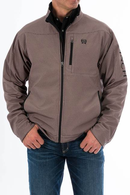 Cinch Tan and Black Jacket with Concealed Carry Pocket