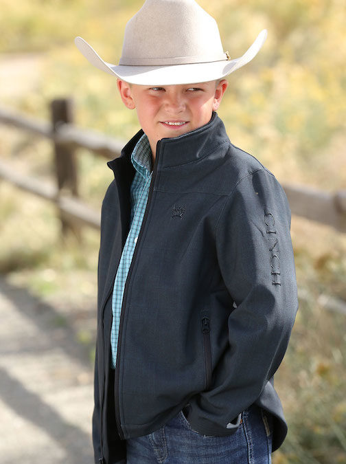 Cinch Boy's Black Jacket