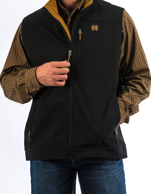 Cinch Black Storm Defense Vest