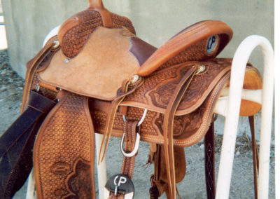 Custom Saddle by County Line Saddle Shop