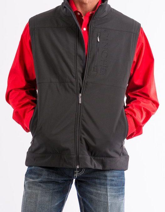 Cinch Black Concealed Carry Vest