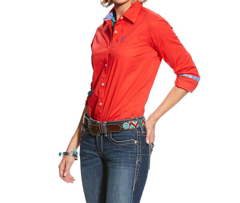 Ariat® Hibiscus Kirby Stretch Shirt