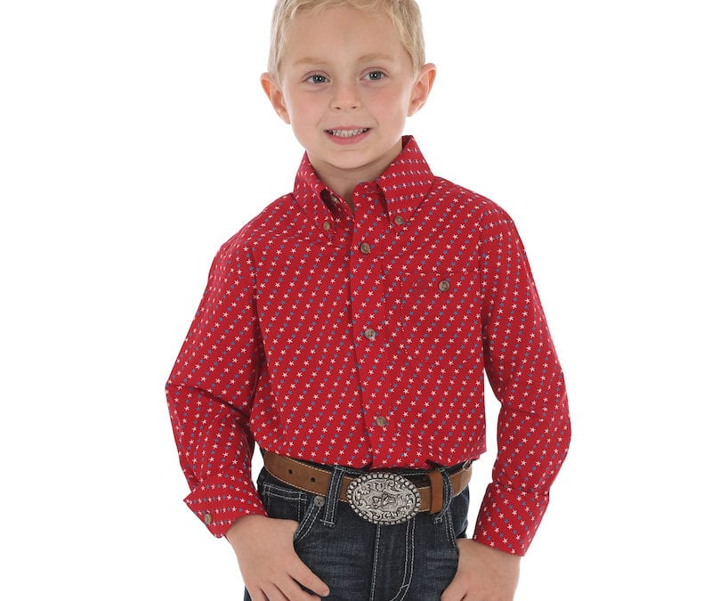 Wrangler® Red, White and Blue Star Shirt