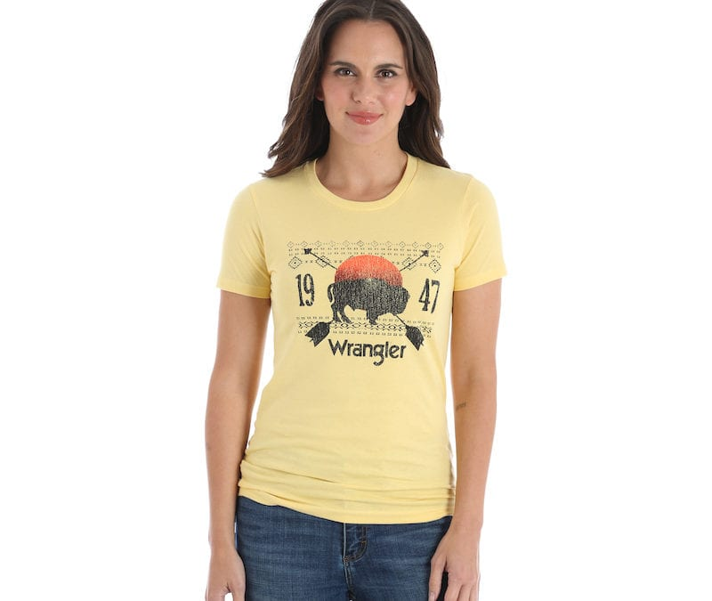 Wrangler® Banana Western Fashion Tee