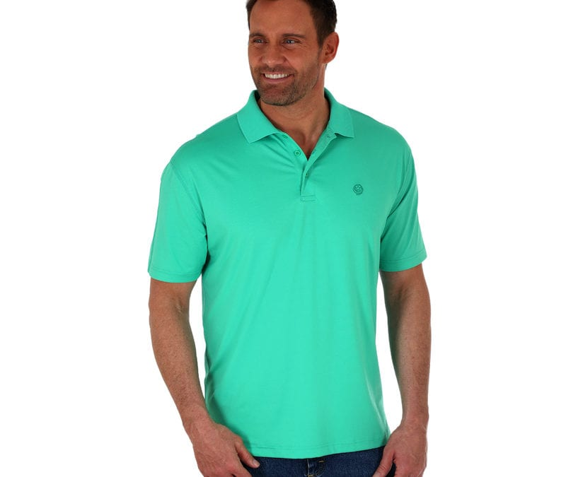 Wrangler® Bright Green George Strait Performance Shirt
