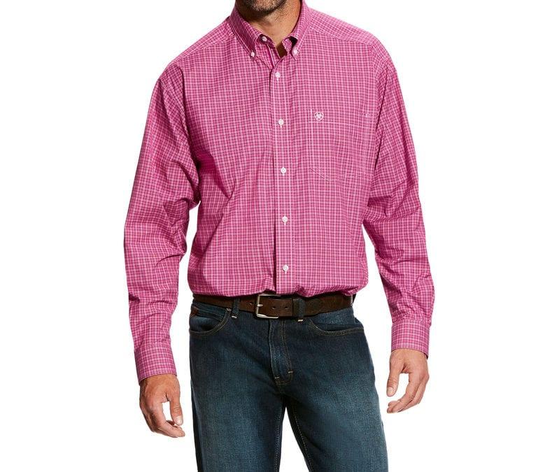 Ariat® Berry Juice Fallwell Long Sleeve Stretch Performance Shirt
