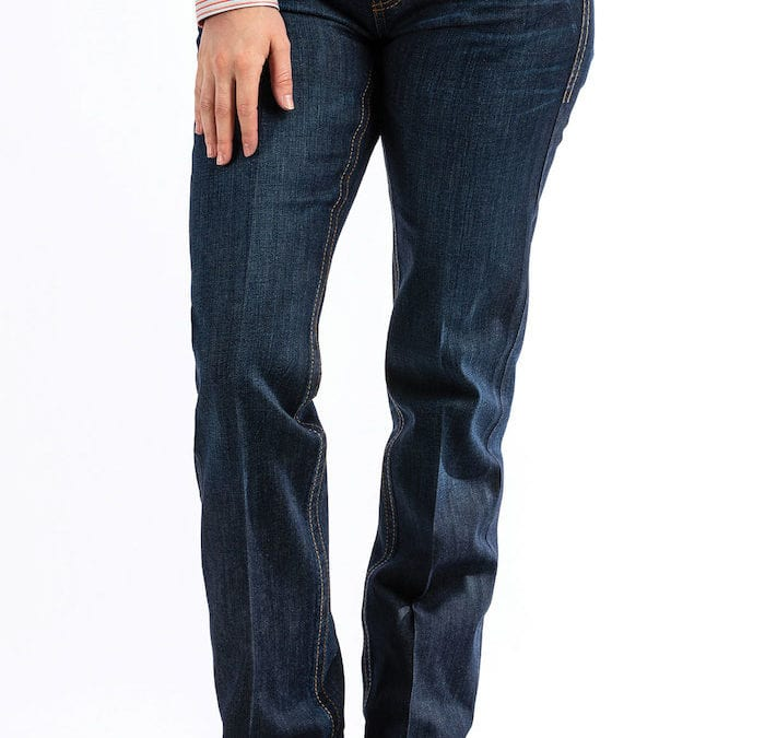 Cinch® ADA Mid Rise Boot Cut Indigo Dark Wash Jean