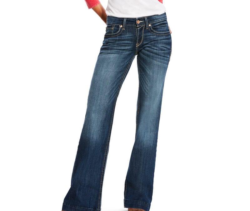 Ariat® Mid Rise Wide Leg Trouser