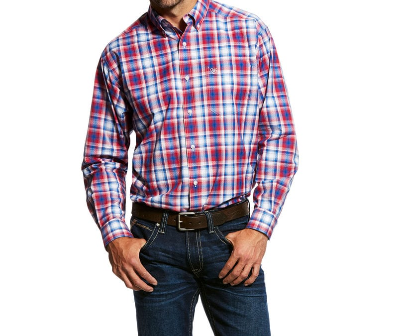 Ariat® Multi Oakden LS Perf Shirt