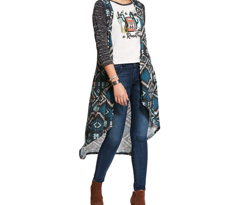 Ariat® Aztec Print Hunter Vest