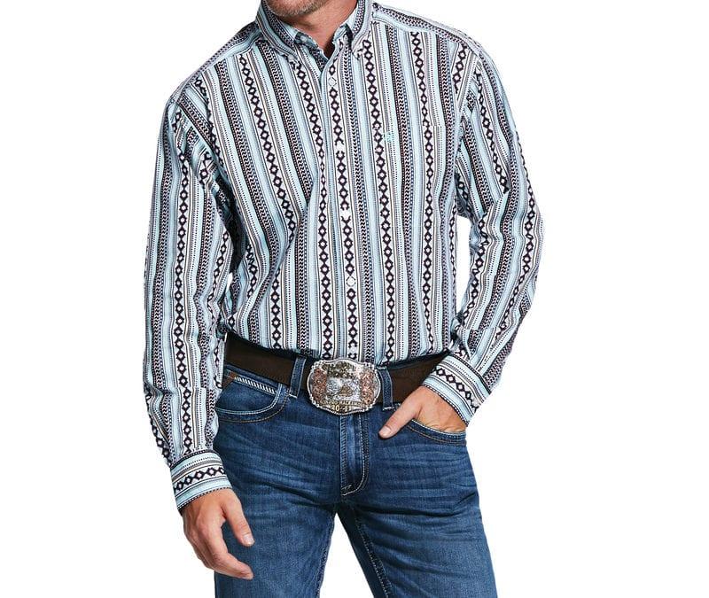 Ariat® Multi Ripon Print LS Shirt