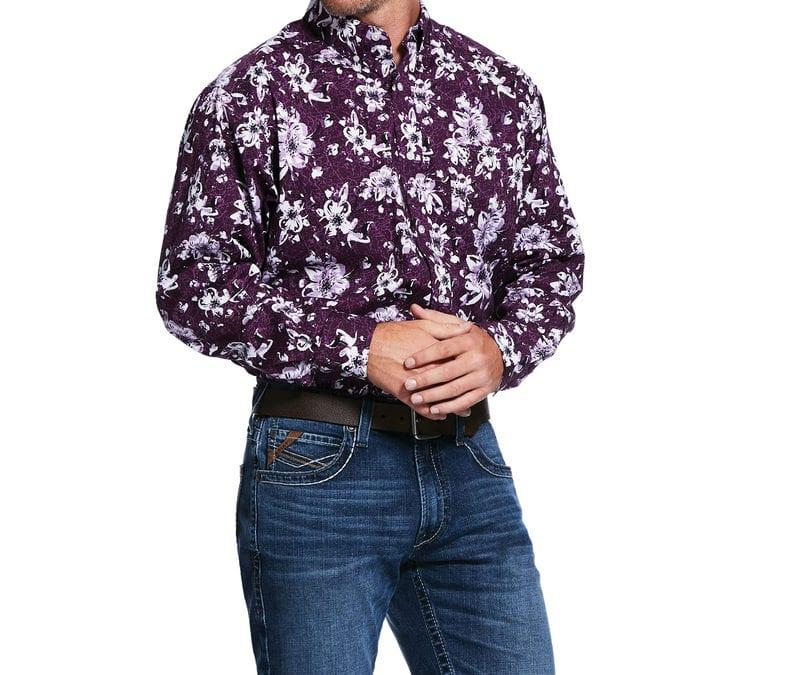 Ariat® Irises Rio Print LS Shirt