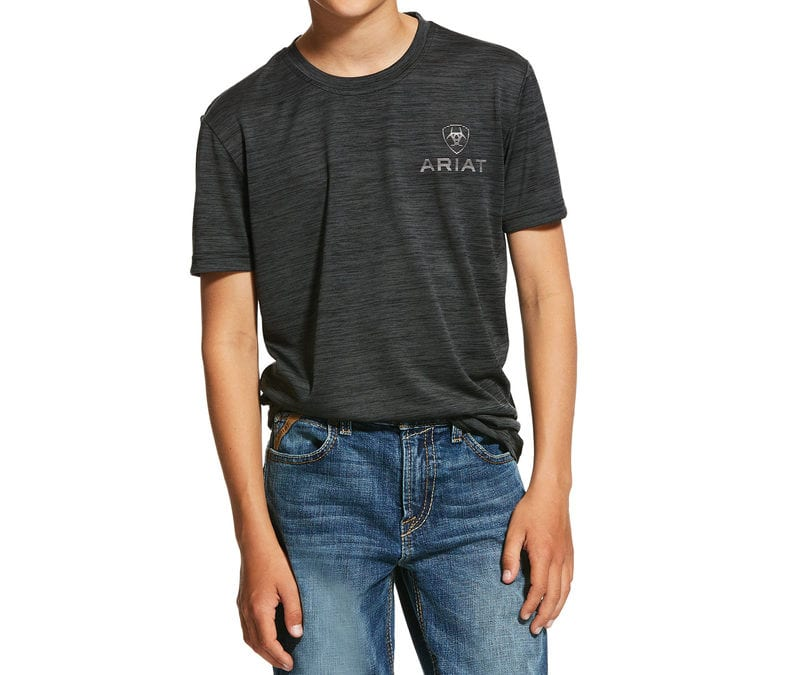 Ariat® Charcoal Charger SS T-Shirt