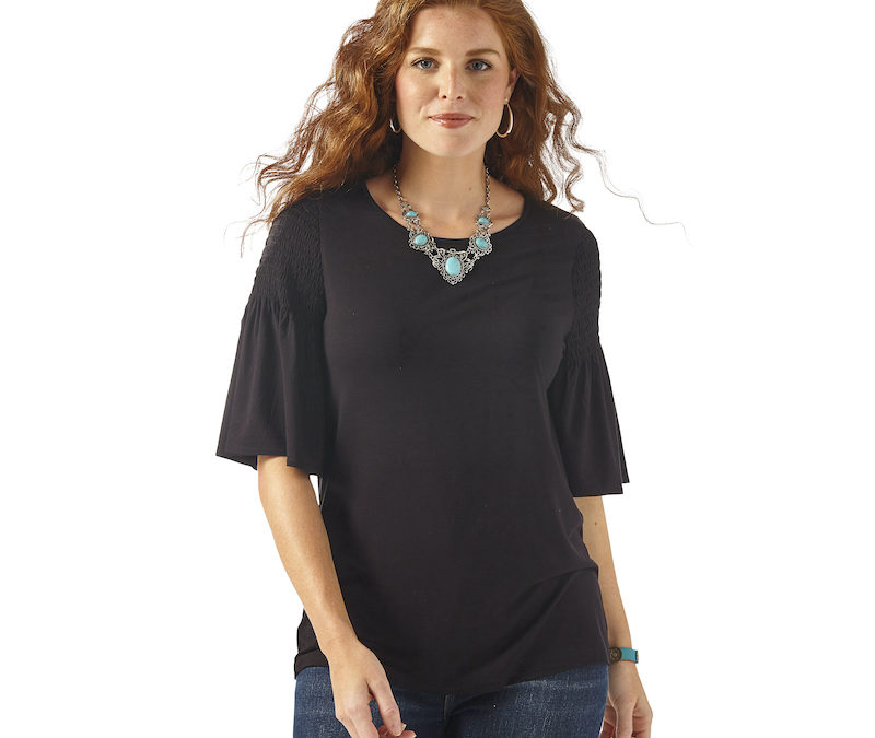 Wrangler® Midnight Beauty Top