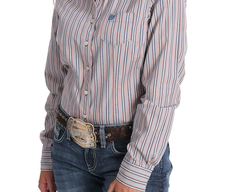 Cinch® Red, White and Blue Vertical Stripes